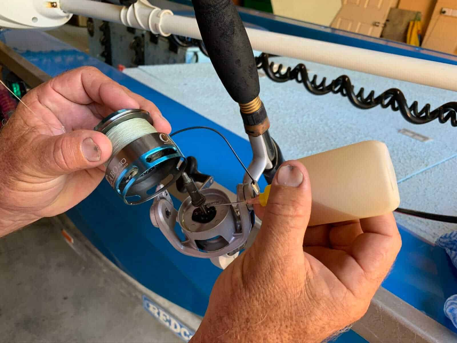 Spinning Reel Maintenance & Cleaning