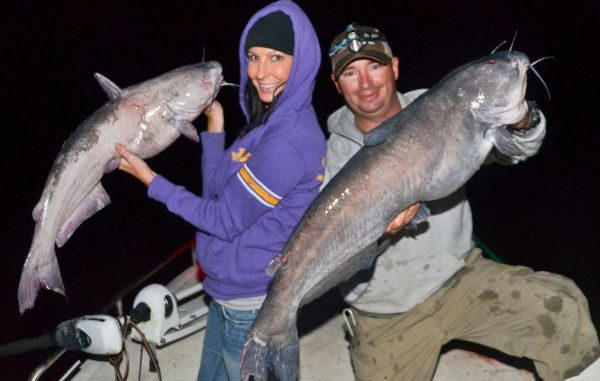 Right Time for catfish fishing