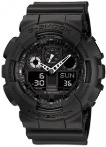 Casio Men's G Shock GA 100 1A1