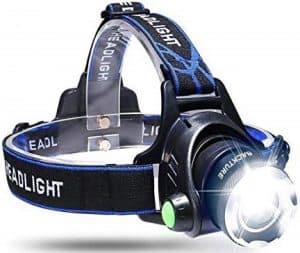 GRDE 2181F Waterproof Flashlight