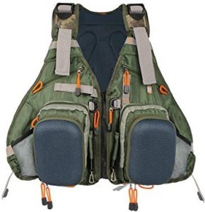 Kylebooker Pack Adjustable Fly Fishing Vest